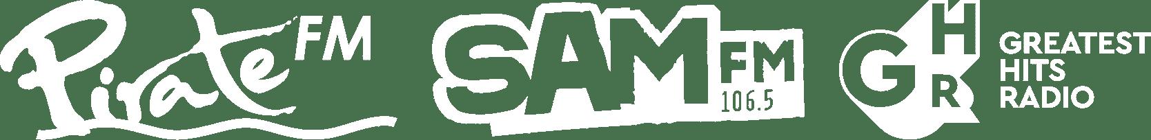 Pirate FM, SAM FM, Greatest Hits Radio