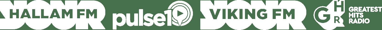Hallam FM, Pulse FM, Viking FM, Greatest Hits Radio