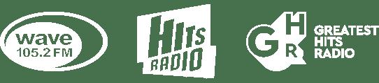 Wave105, Hits Radio, Greatest Hist Radio